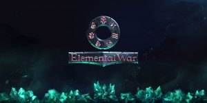 Elemental War Logo